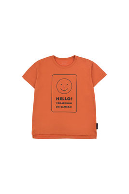 'SMILE' T-shirt Tiny Cottons