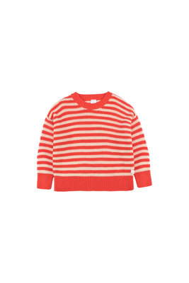 KNIT STRIPES SWEATER