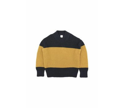 Tiny Cottons sweater color block