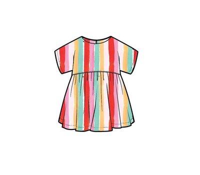 Ammehoela regenboog jurk