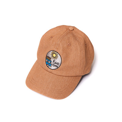 CarlijnQ road trippin' - cap brown denim