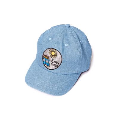 CarlijnQ road trippin' - cap blue denim