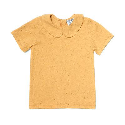 CarlijnQ basics yellow - shirt with collar