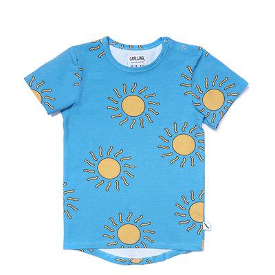 CarlijnQ big sun - t-shirt short sleeve drop back