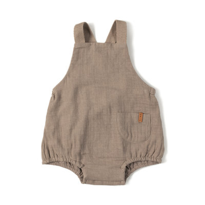 Nixnut baby salopette taupe