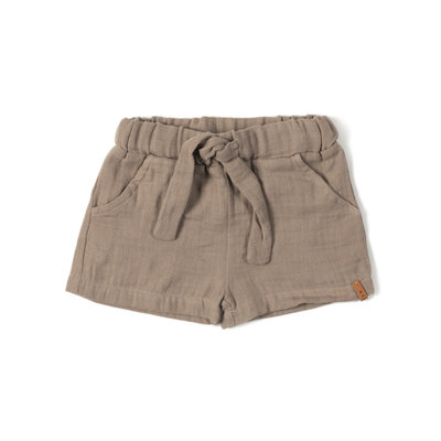 Nixnut mousse short taupe