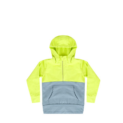 Mingo hoodie smoke blue/sun glow