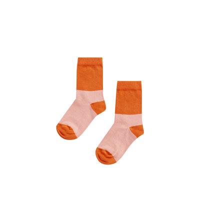 Mingo socks peach pink /koi