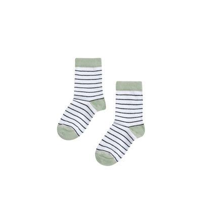 Mingo socks mint  stripes
