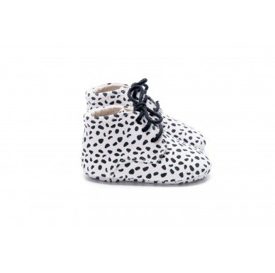 Mockies Classic Boots Speckle White